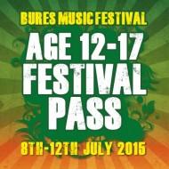 Teen Festival Pass 2015 (12-17)