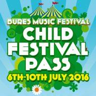 Child Festival Pass 2016