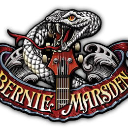 BERNIE MARSDEN is our FRIDAY NIGHT HEADLINER!