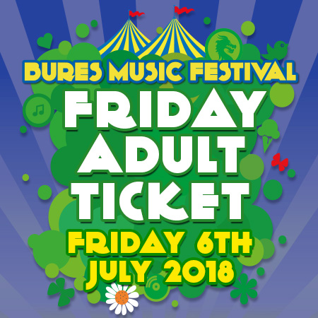 Friday 6th July 2018 Adult Ticket