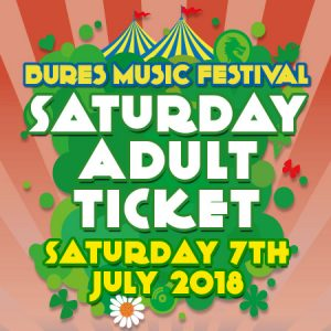 Saturday 7th July 2018 Adult Ticket
