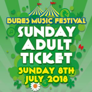 Sunday 8th July 2018 Adult Ticket