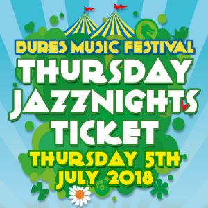 Thursday 5th July 2018 Jazz Ticket