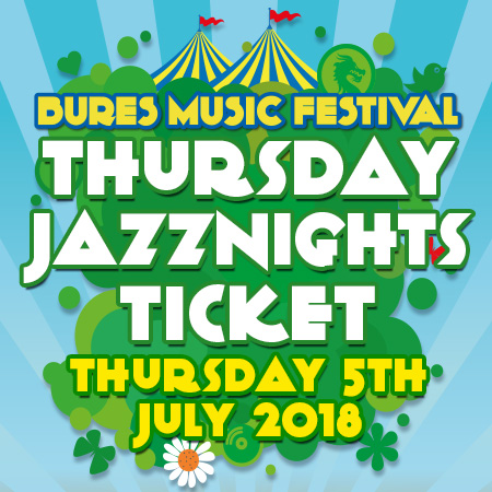 Thursday 5th July 2018 Jazz Ticket