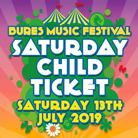 BMF19 Free Child Saturday 13th July